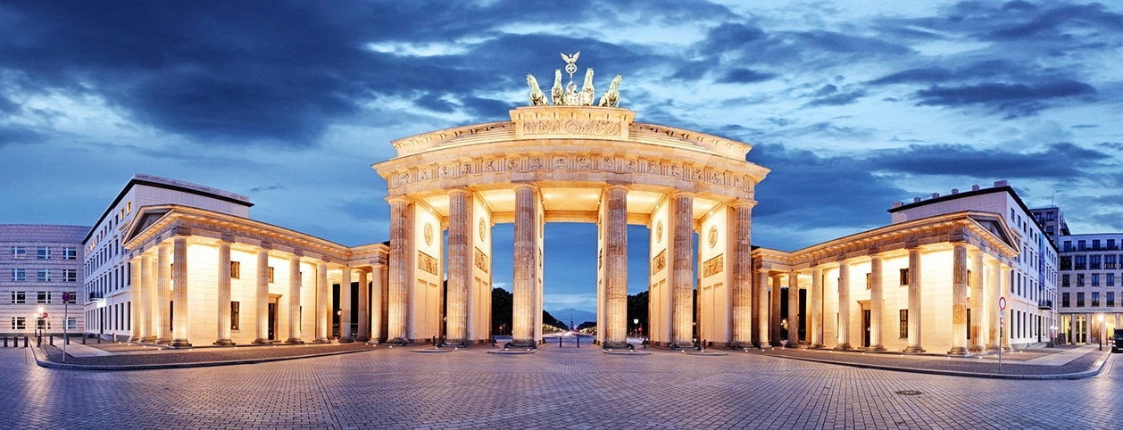 Foto: The 'Brandenburger Tor' in Berlin